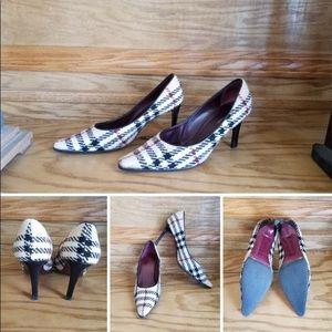 Vintage Burberry Heels 8.5